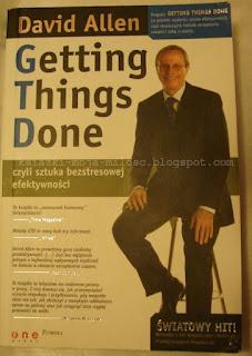 okładka książki Getting Things Done