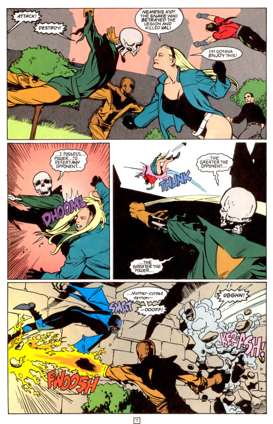 Legion of Super-Heroes (1989) 47 Page 7