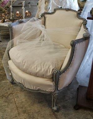 Bergere French Chair