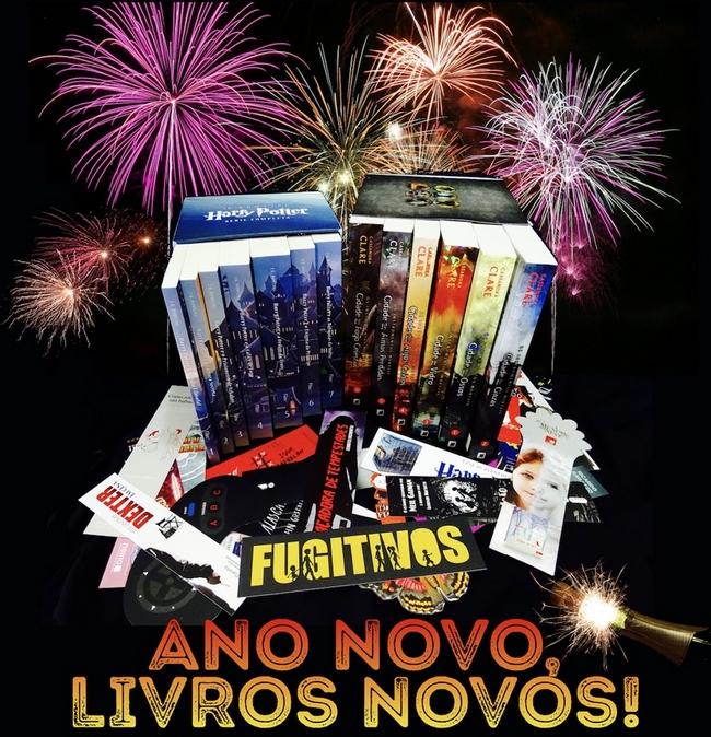 Promoção: Ano Novo, Livros Novos!