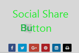 Social Share Button : on page seo