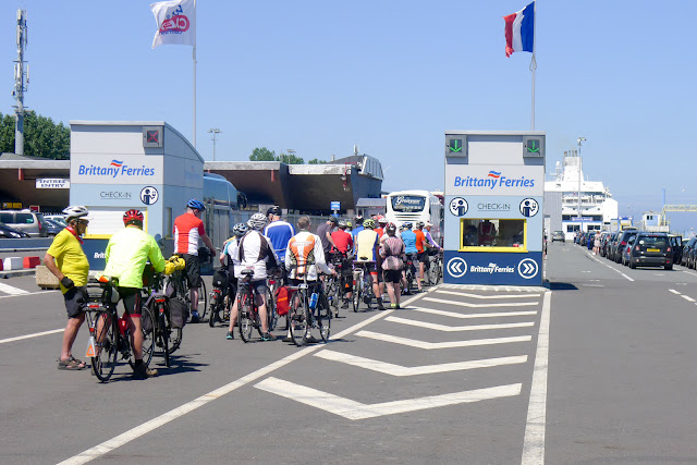 En vélo couché de Paris à la Normandie, Ouistreham