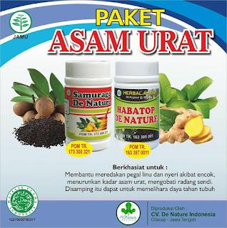 obat asam urat De Nature di Aceh Barat Daya