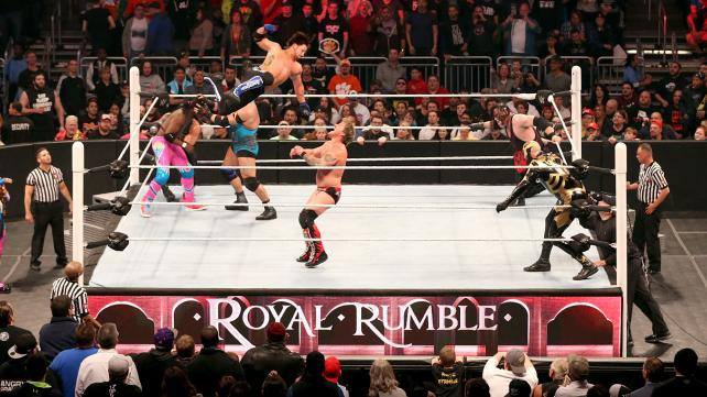 WWE Royal Rumble 2016 gameplay