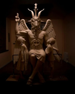 Statue of demon idol