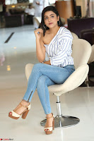 Avantika Mishra in One Shoulder Crop Top and Denim Jeggings ~  Exclusive 076.JPG
