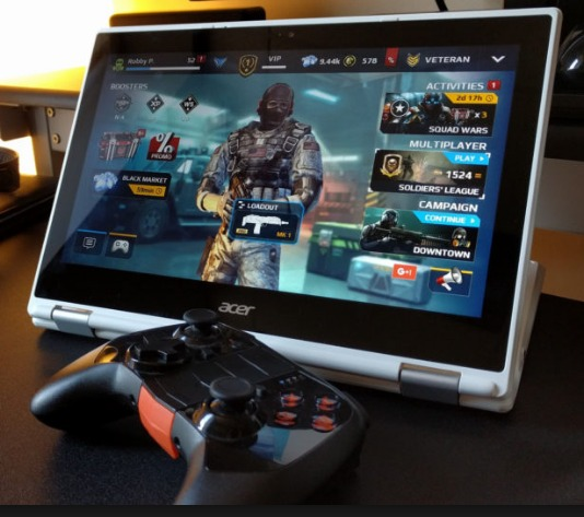 Transform Any Chromebook Into a Gaming Laptop with Android Apps & a Gamepad