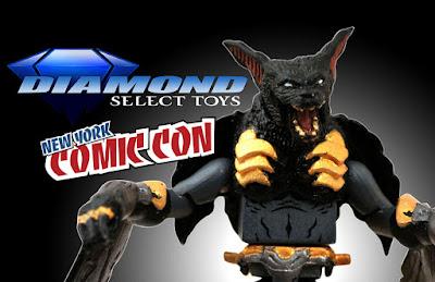 Diamond Select Toys at New York Comic Con 2018