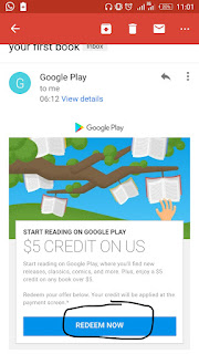 Redeem Your $5 Bonus To Buy Any Book On Google Play Store