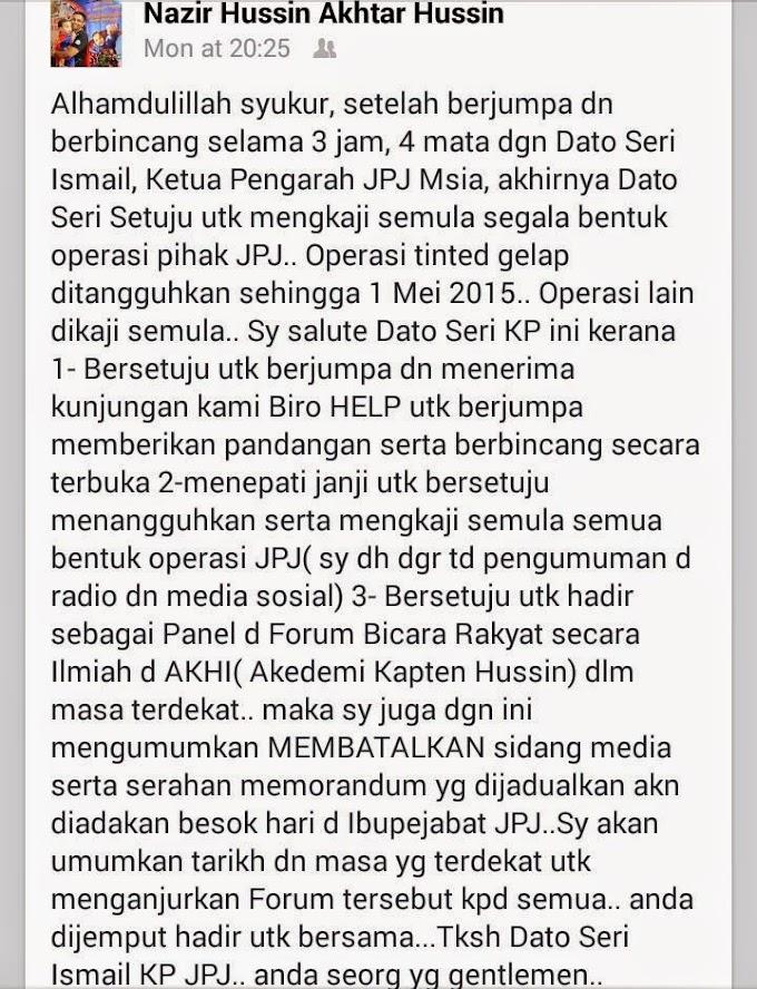 Sukan & JPJ Menyatukan Rakyat Malaysia Sebenarnya @NajibRazak @NazirHussin79