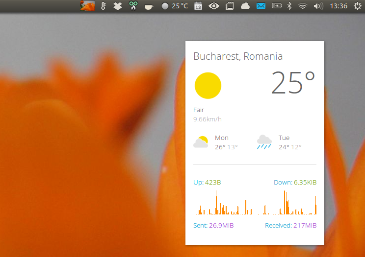 Get Weather Or System Info On Your Desktop With These 2 Conky