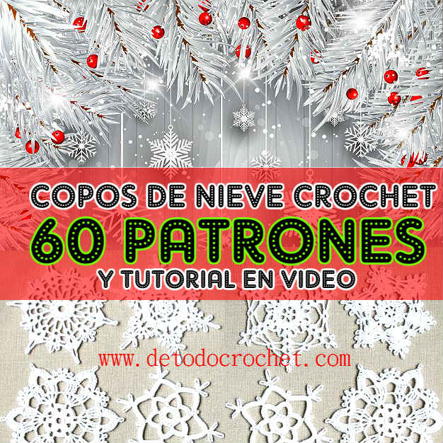 Free-crochet-patterns-Snowflakes