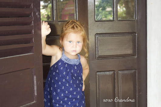 Nautical J.Crew Knock-off Sundress