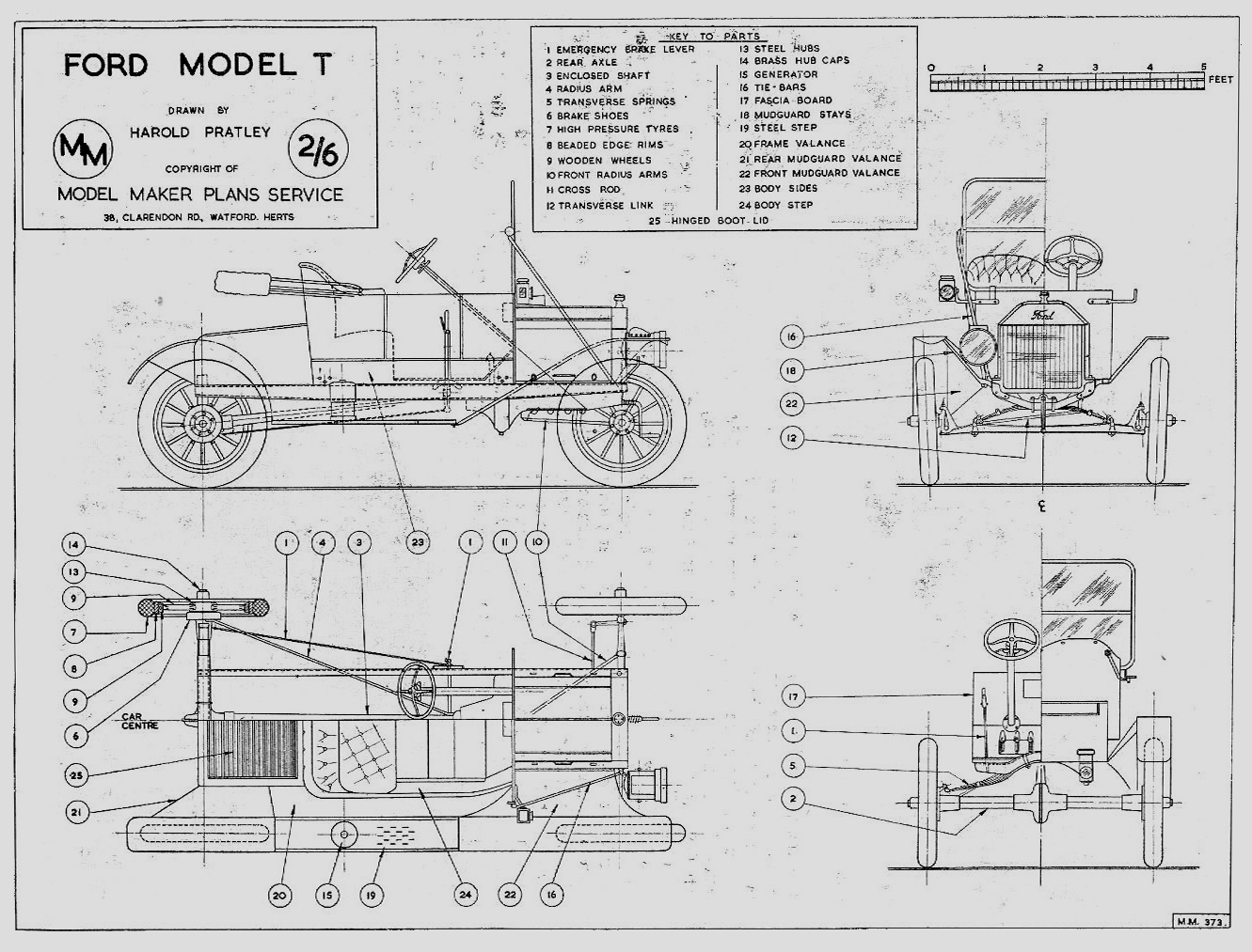 Ford Blueprint Blue