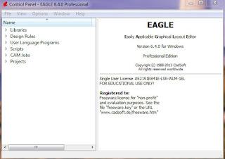 Tutorial Membuat Rangkaian Sederhana Menggunakan Eagle