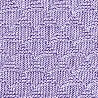 Triangles Knit Purl pattern | Knitting Stitch Patterns.