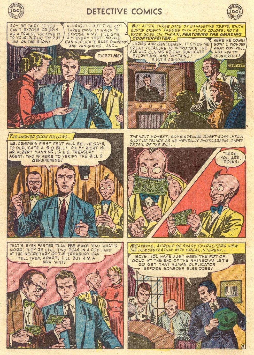 Read online Detective Comics (1937) comic -  Issue #186 - 20