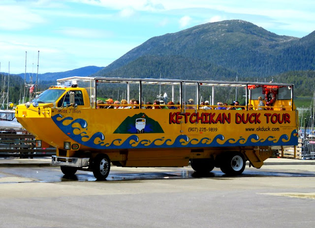 Ketchikan Duck Tour Bus
