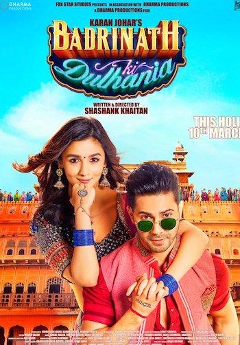 Badrinath Ki Dulhania 2017 DVDScr x264 Hindi 700MB