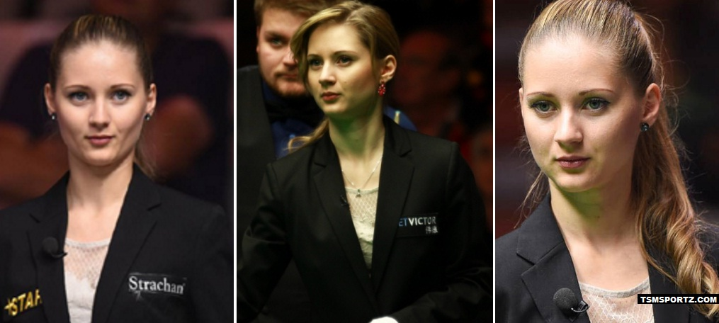 Proletina Velichkova Beautiful Snooker Referee 2017