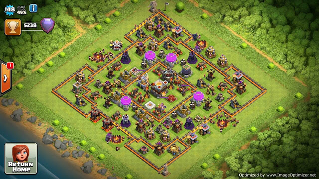base war terbaik coc th 11