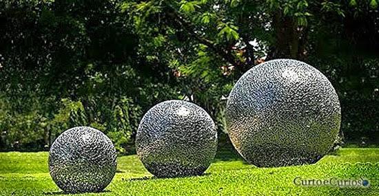O Mistério das esferas 'extraterrestres' enterradas na selva tropical