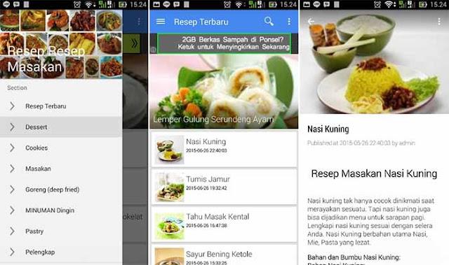 18 Ribu Lebih Resep Masakan - Aplikasi Resep Android Terbaik