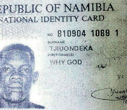 how to change your id name in south africa