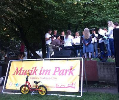 Chor Musik im Park
