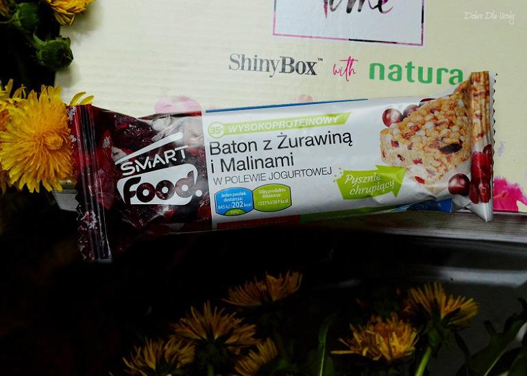 ShinyBox with Natura Spring Time - SmartFood Baton z żurawiną i malinami