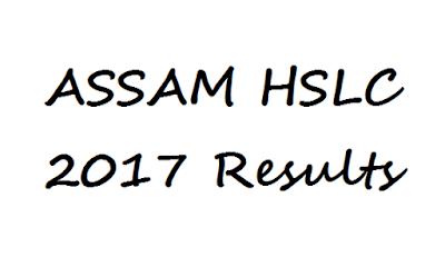 Assam HSLC SEBA Result 2017