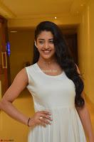 Daksha Nagarkar Cute Beauty in Sleeveless White Dress at Khwaaish Exhibition Launch 2017 ~  Exclusive 063.JPG