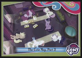My Little Pony The Cutie Map - Part 2 Series 4 Trading Card