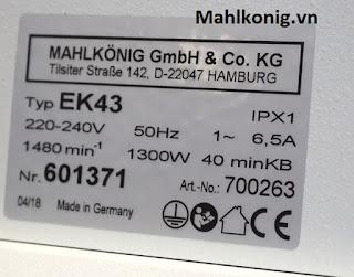 Mahlkonig EK43