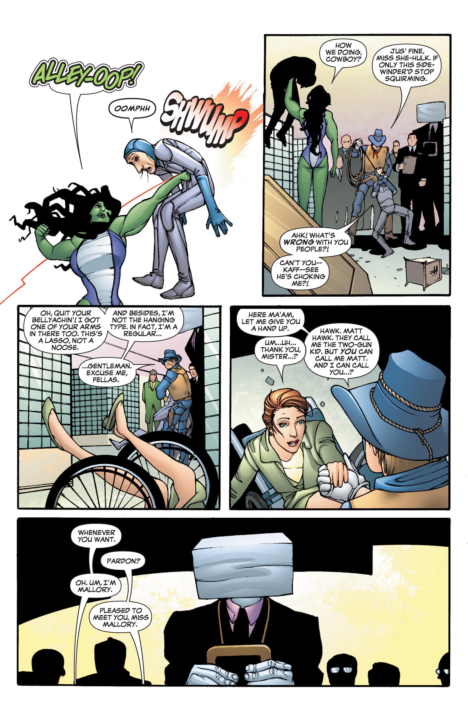 Read online She-Hulk (2005) comic -  Issue #5 - 10