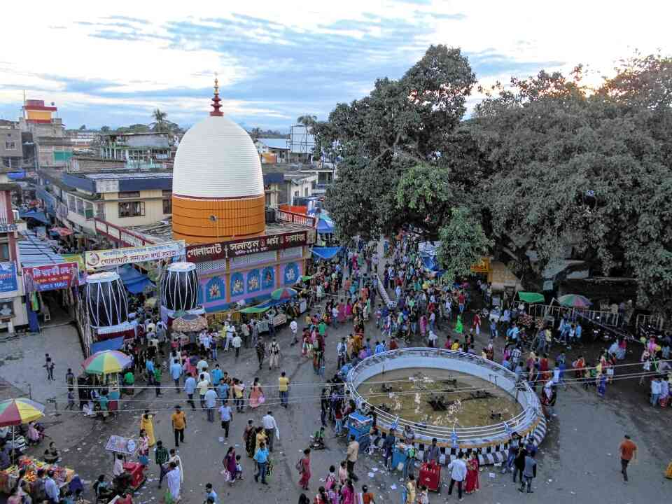 Durga Puja at Golaghat