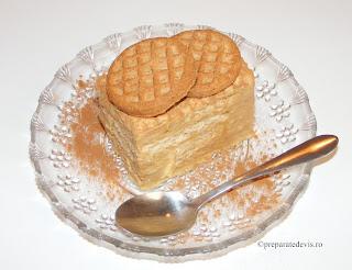 Tiramisu de post reteta tort prajitura desert cu biscuiti fructe si cereale retete dulciuri si prajituri de casa,