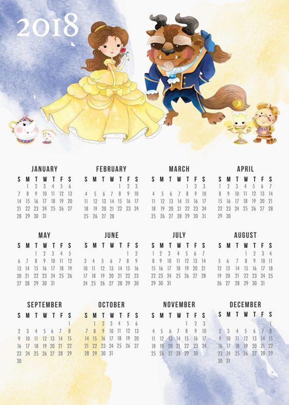 darmowy kalendarz na 2018