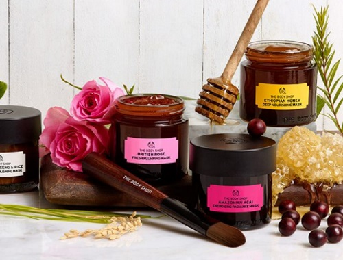 The Body Shop  Free Samples Expert Facial Masks
