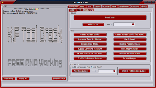 Download K.F Tool V2.0 Crack Free and Working