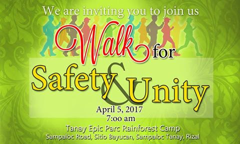 A Walk for Safety and Unity (Tanay, Rizal)