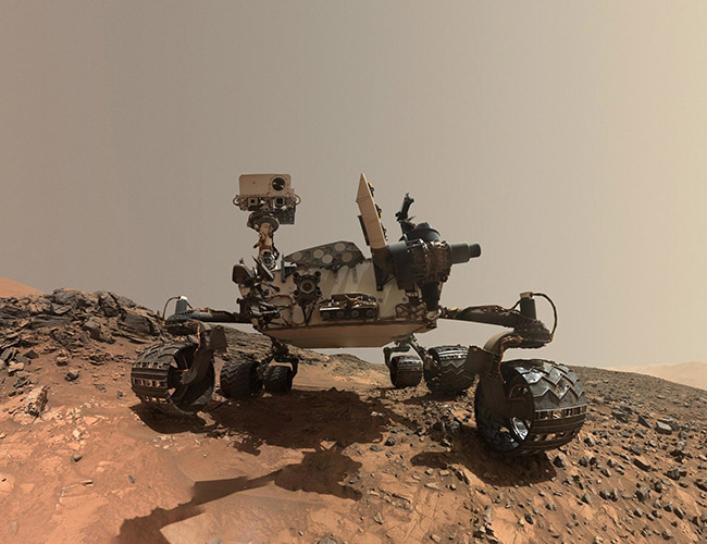 Penelitian NASA discovered ancient methane on Mars