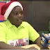Special 10-year-old boy acts as Santa Claus to children from impoverished families