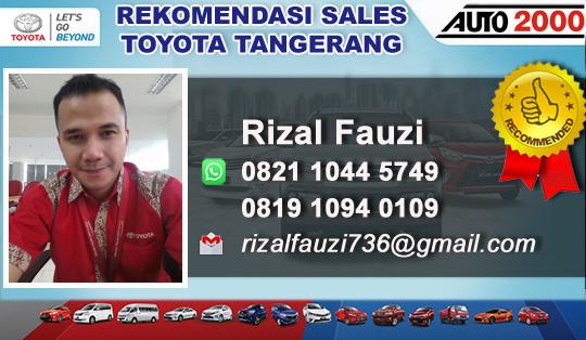 Rekomendasi Sales Toyota Citra Raya Tangerang