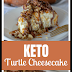 Keto Caramel Pecan Turtle Cheesecake
