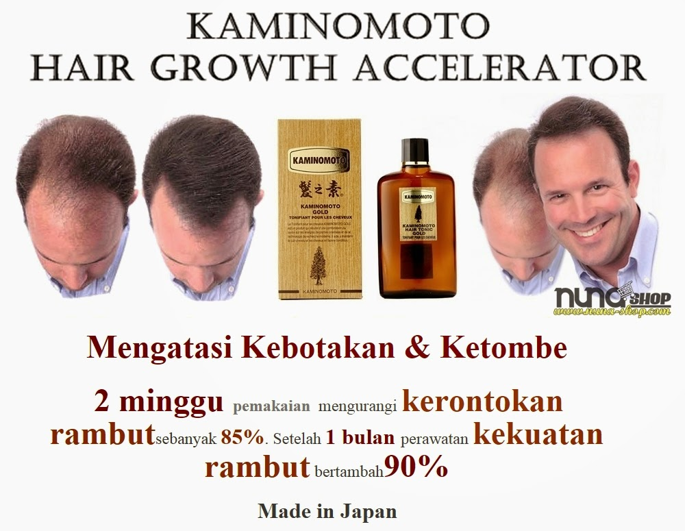 KAMINOMOTO Hair Growth Accelerator, Penumbuh Rambut Anti Botak
