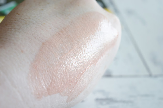 liquid highlighter hand swatch