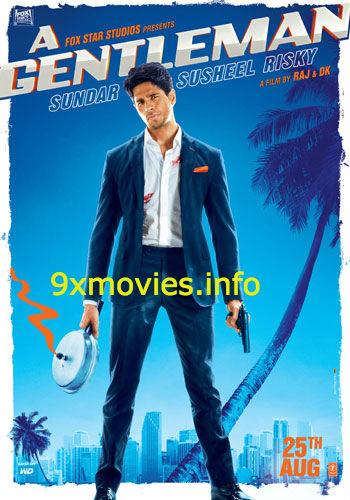 Free Download A Gentleman 2017 Hindi 720p  999mb