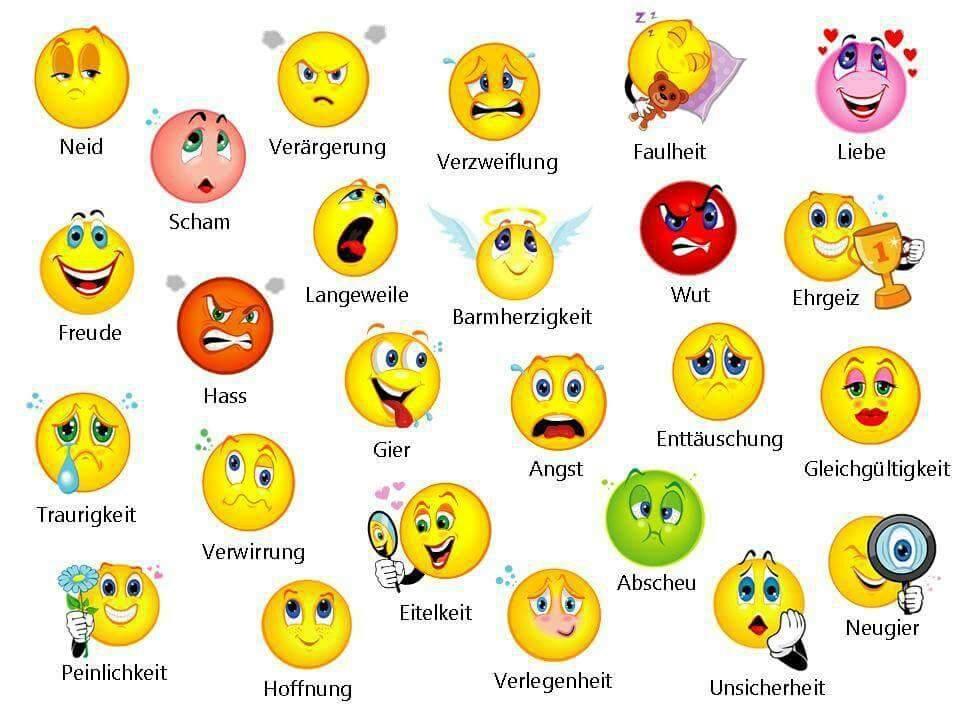 Und gefühle emotionen sind was Emotionen und