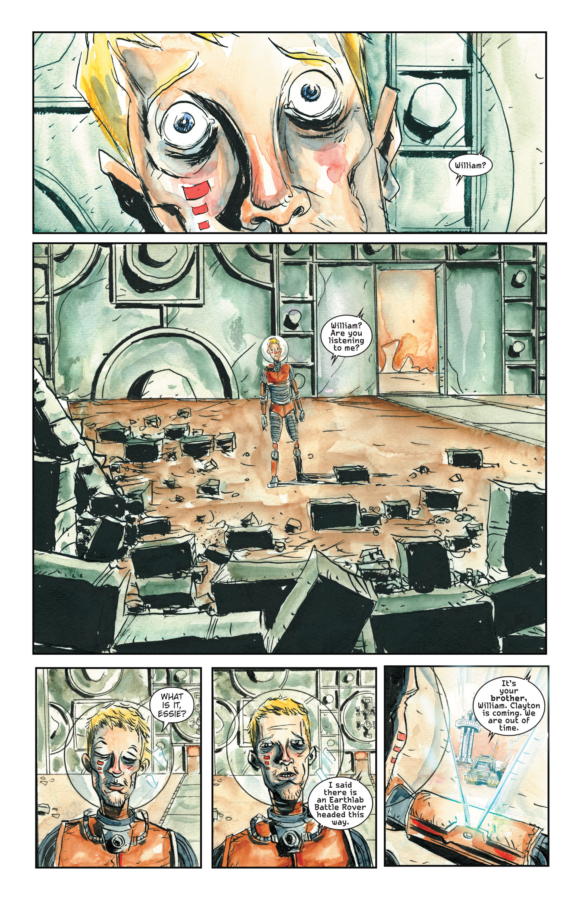 Read online Trillium comic -  Issue # TPB - 163